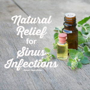 Natural Relief for Sinus Infections
