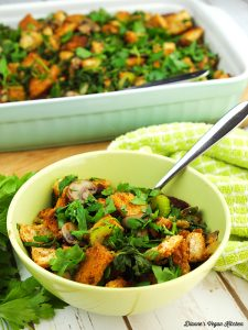 Spinach Mushroom Stuffing