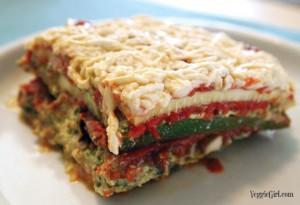 Zucchini Lasagna >> Veggiegirl.com