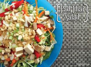 Co-Op Inspired Pad Thai Salad