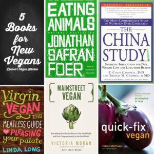 5 Books for New Vegans