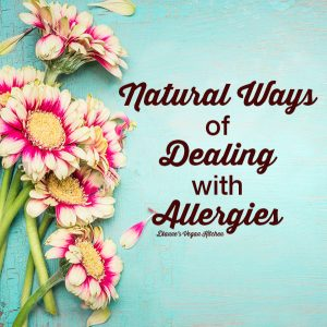 Natural Ways of Dealing with Allergies
