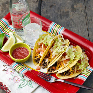 Slow Cooker Lentil-Quinoa Taco Filling from Vegan Slow Cooking for Two by Kathy Hester