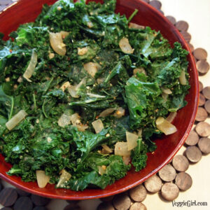 Spicy Coconut Kale