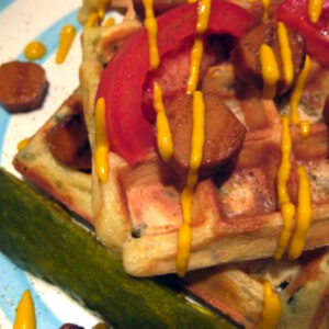 Zeke the Plumber's Awful Waffles from Natalie Slater