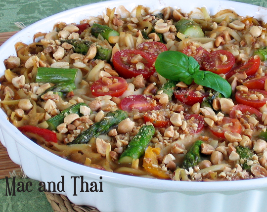 Mac and Thai from One Dish Vegan by Robin Robertson