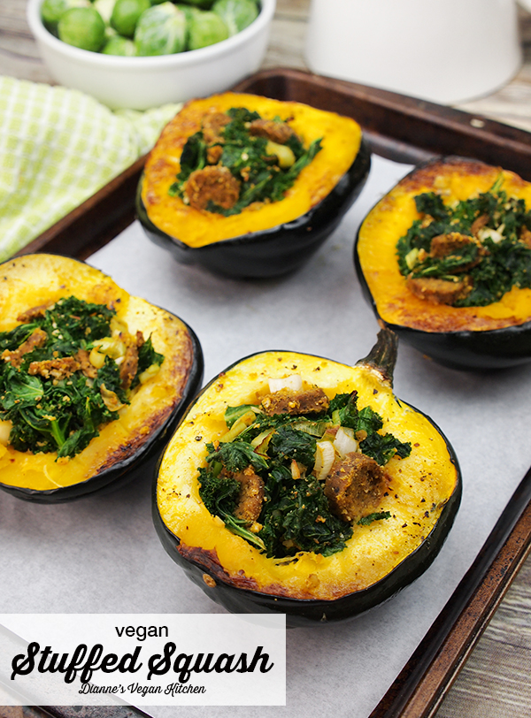 Vegan Stuffed Squash