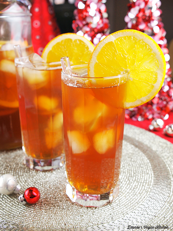Orange Ginger Sparkling Tea