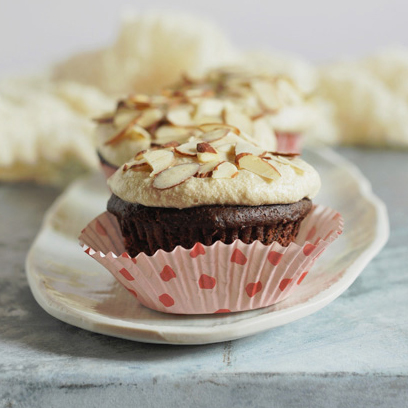 Amaretto Cupcakes from Going Vegan
