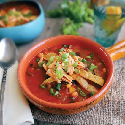 Tortilla Soup from Plant-Powered for Life by Sharon Palmer, RDN