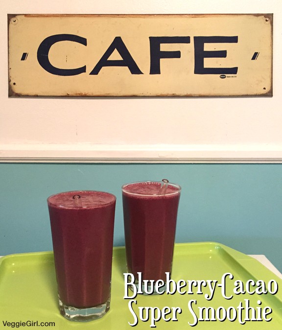 Blueberry Cacao Smoothie