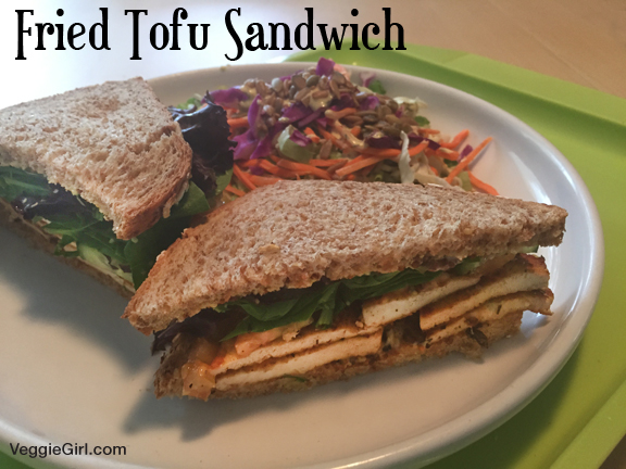 Fried Tofu Sandwich