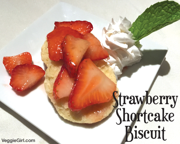 Strawberry Shortcake Biscuit