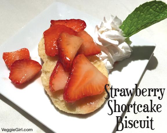 Strawberry Shortcake Biscuit
