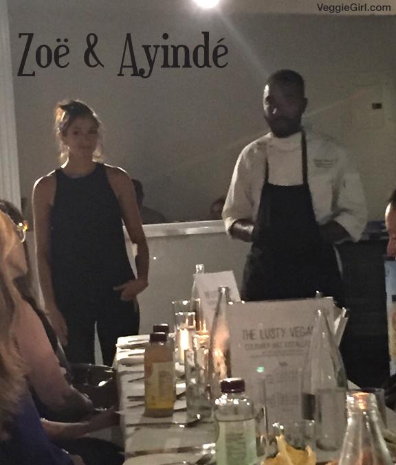 Zoe and Ayinde