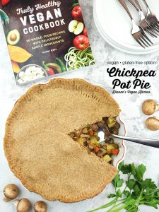 pot pie with book and text overlay