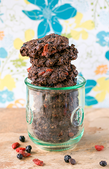 Double Chocolate Berry Good Cookies