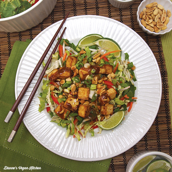 Stir-Fry Salad >> Dianne's Vegan Kitchen
