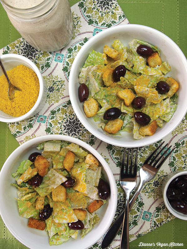 Vegan Caesar Salad >> Dianne's Vegan Kitchen