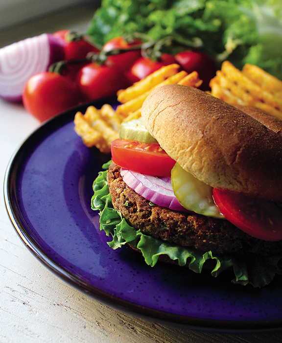 Betty's Wartime Walnut Burger from Mastering the Art of Vegan Cooking by Annie and Dan Shannon