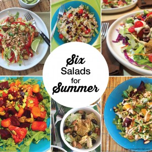 Six Salads for Summer
