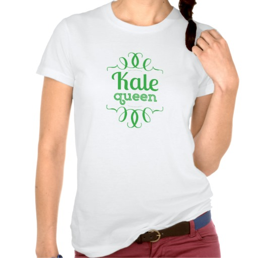 kale_queen_ladies_t_shirt