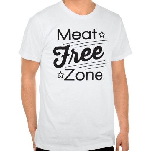 meat_free_zone_mens_t_shirt