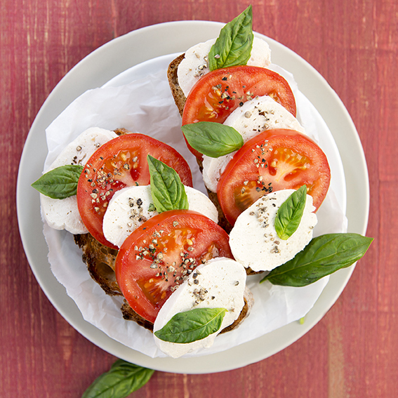 Buffalo Mozzarella from DIY Vegan by Nicole Axworthy and Lisa Pitman