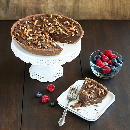 Easy as Chocolate Pie from Cook the Pantry by Robin Robertson