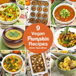 9 Vegan Pumpkin Recipes