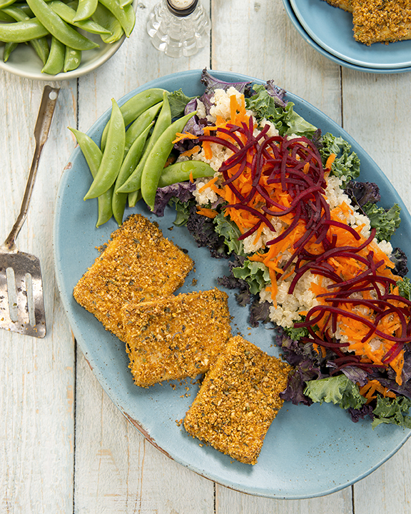 Shake & Bake Herb Breading from DIY Vegan by Nicole Axworthy and Lisa Pitman