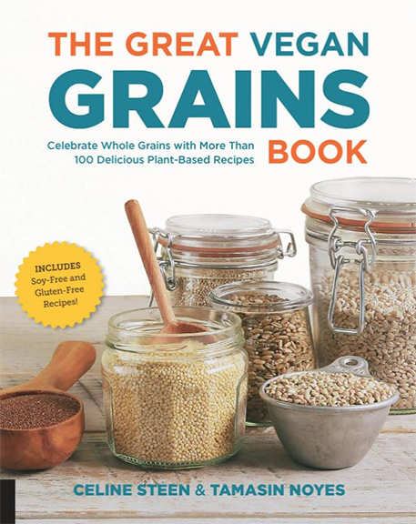The Greatn Vegan Grains Book by Celine Steen and Tamasin Noyes