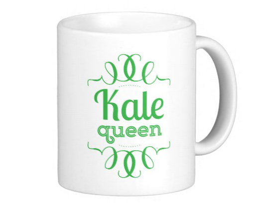 Kale Queen Mug >> The 2017 Vegan Holiday Gift Guide from Dianne's Vegan Kitchen