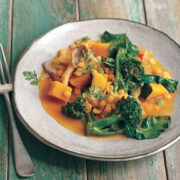 Thai Red Curry from Vegan Under Pressure by Jill Nussinow