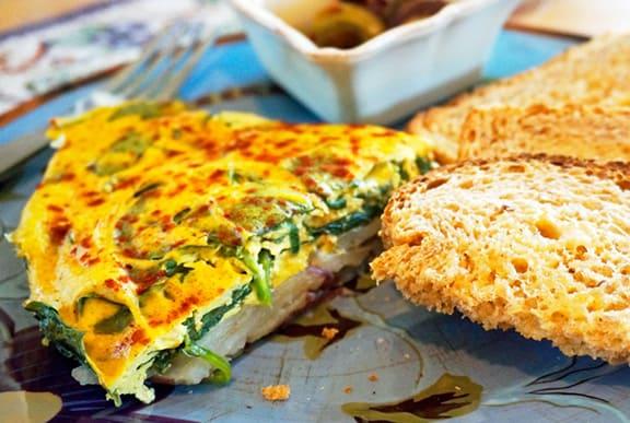 Laura Theodore's Easy Vegan Frittata