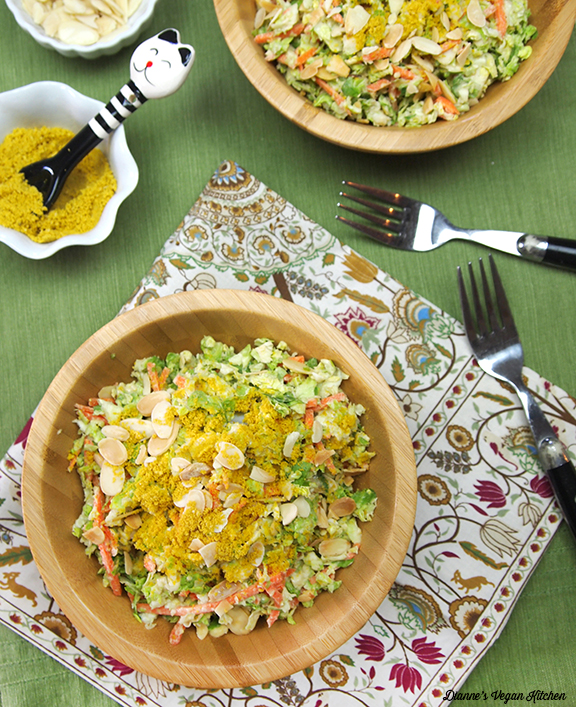 Brussels Sprouts Salad from What's For Lunch by Dianne Wenz