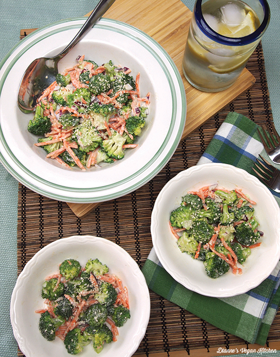Broccoli Slaw >> Dianne's Vegan Kitchen