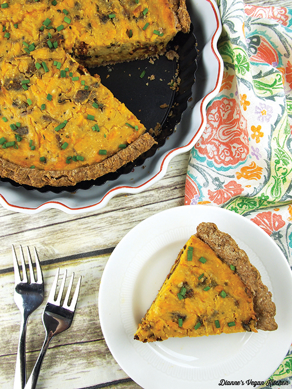 Vegan Quiche Lorraine from Baconish by Leinana Two Moons