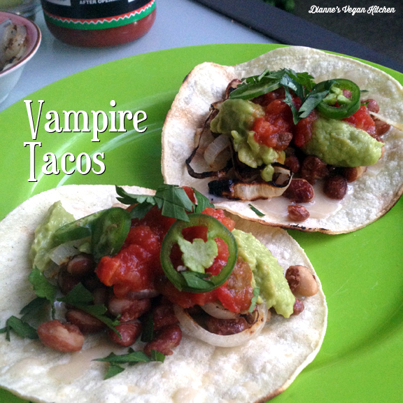 Vampire Tacos from Vegan Tacos by Jason Wyrick