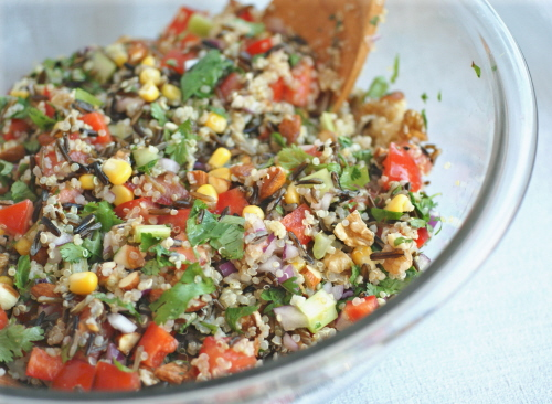 Ricki Heller's Confetti Quinoa and Wild Rice Salad