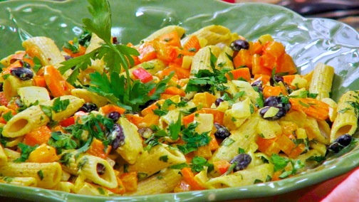 Laura Theodore's Penne and Black Bean Salad