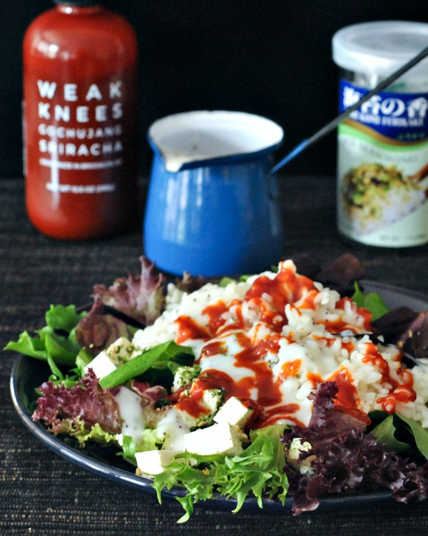 Spabettie's Waikiki Breakfast Salad and Easy Poppyseed Dressing