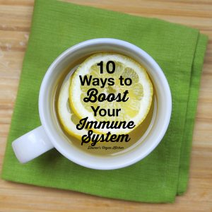 10 Ways to Boost Your Immune System