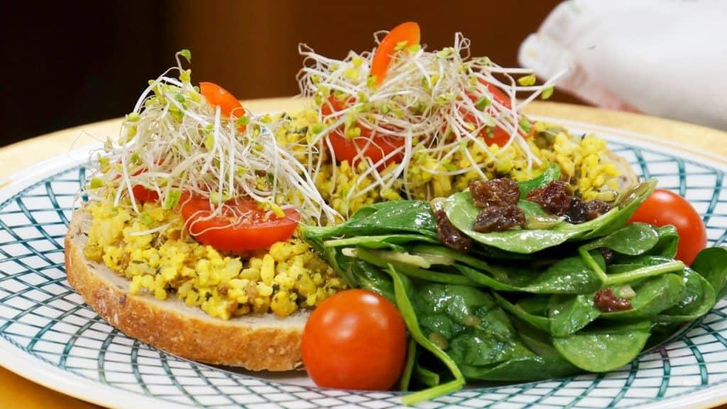 Jazzy Vegetarian's Mock Tuna Salad Sandwiches