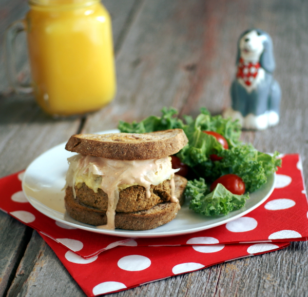Ricki Heller's Reuben Tempeh Burgers with All the Fixin's