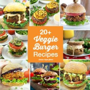 20+ Vegan Veggie Burger Recipes