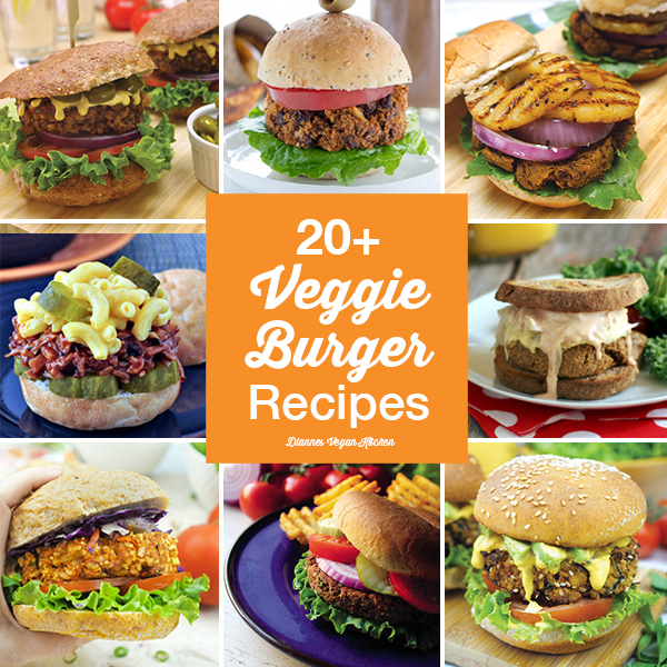 20+ Veggie Burgers for Labor Day