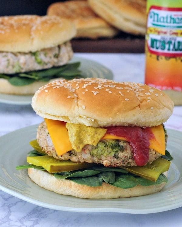Kristina Slogget's White Bean Veggie Burgers