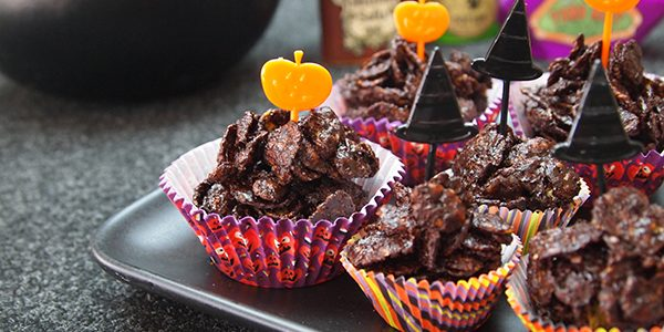 Vegan Chocolate Crackles >> Dianne's Vegan Kitchen
