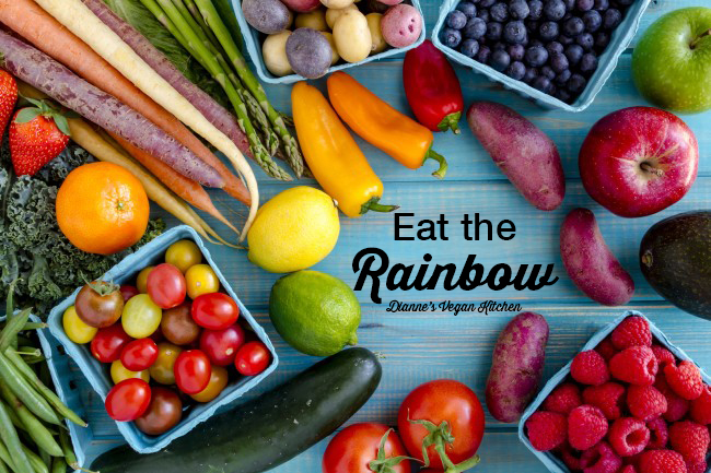 Eat the Rainbow! >> Dianne's Vegan Kitchen